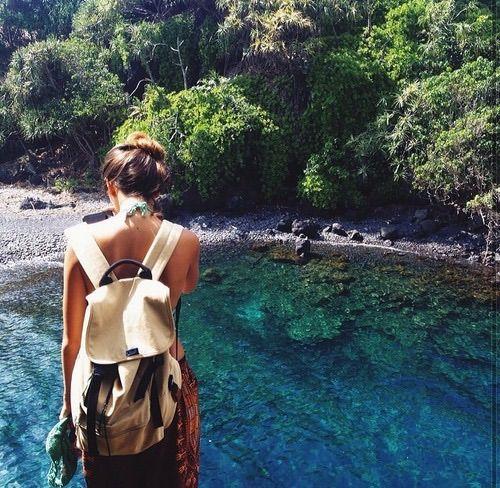Image via We Heart It #beautiful #girl #place #travel