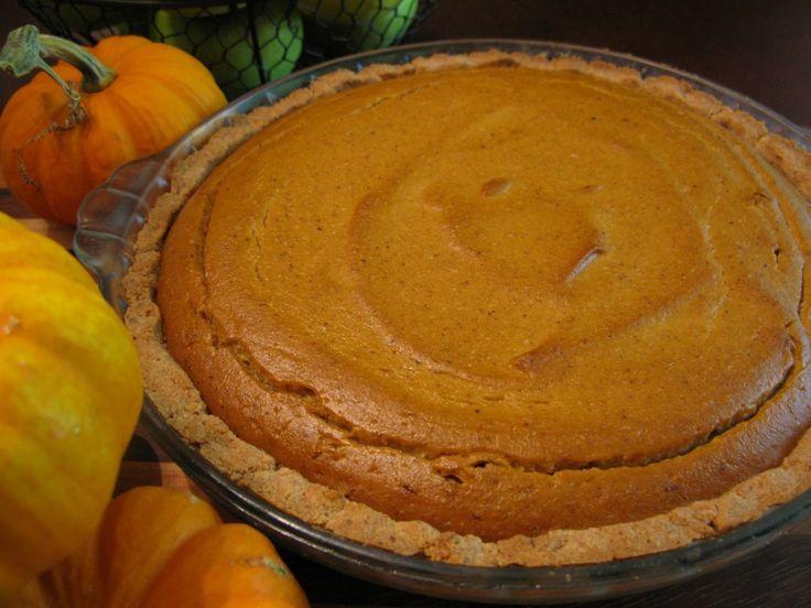 Best paleo pumpkin pie!