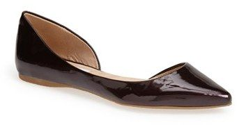 Perfect Pointy Toe Flats: Steve Madden 'Elusion' Half d'Orsay Flat