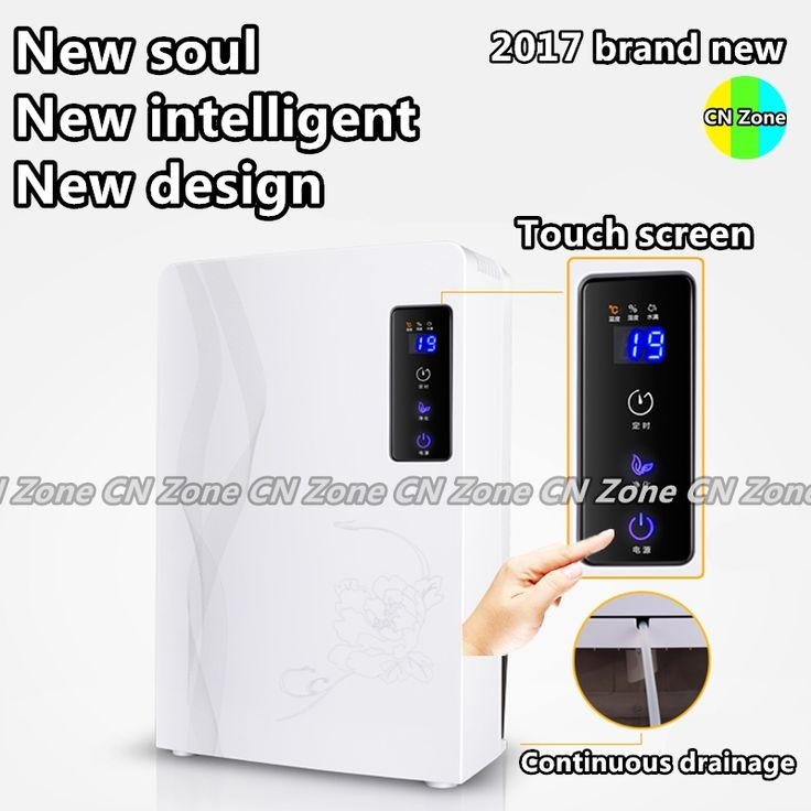 198.58$  Watch now - http://ali9qu.worldwells.pw/go.php?t=32679782801 - Free shipping electric dehumidifiers intelligent home Timing Continuou drainage air dryer machine moisture absorb deshumidifier