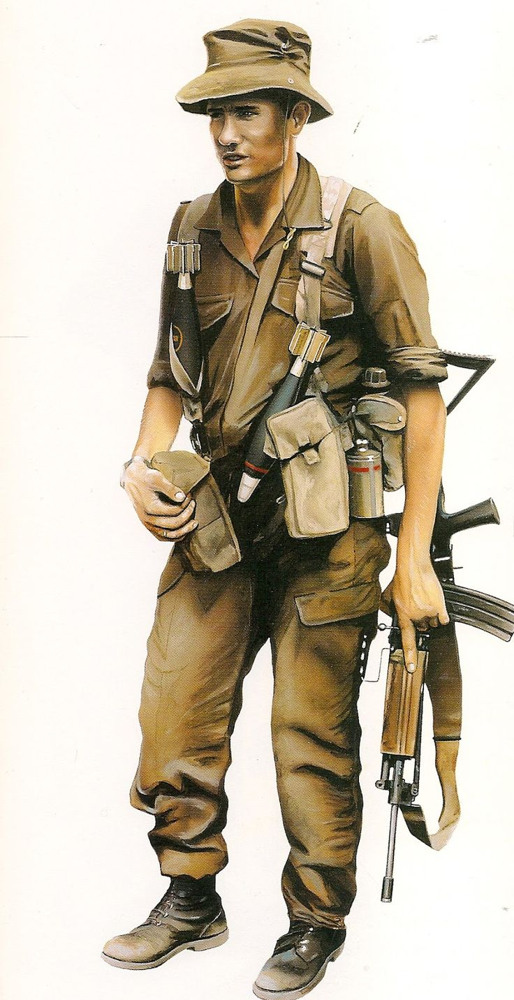 Sergeant South African recon commando 1990, pin by Paolo Marzioli