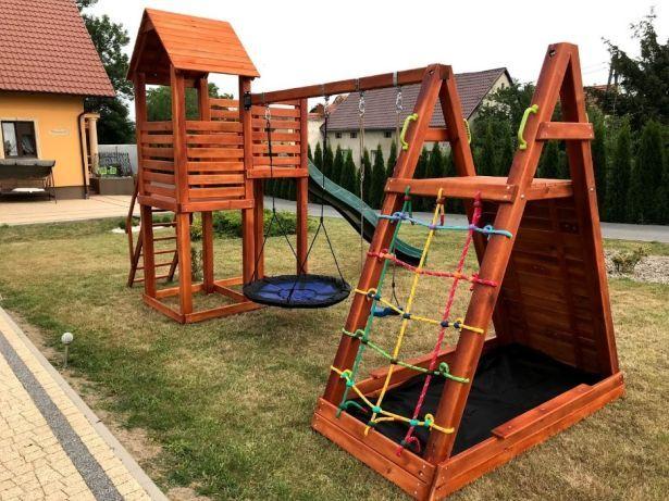 Veritas Plac Zabaw Bibi Wspinaczka Zjezdzalnia Siatka Podest Pleszew Olx Pl Structures Decor Park Slide