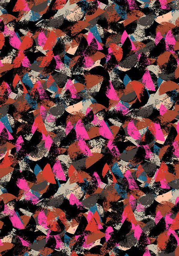 BLOOMY pattern by Minakani for Monoprix www.minakani.com #pattern #monoprix #bloomy
