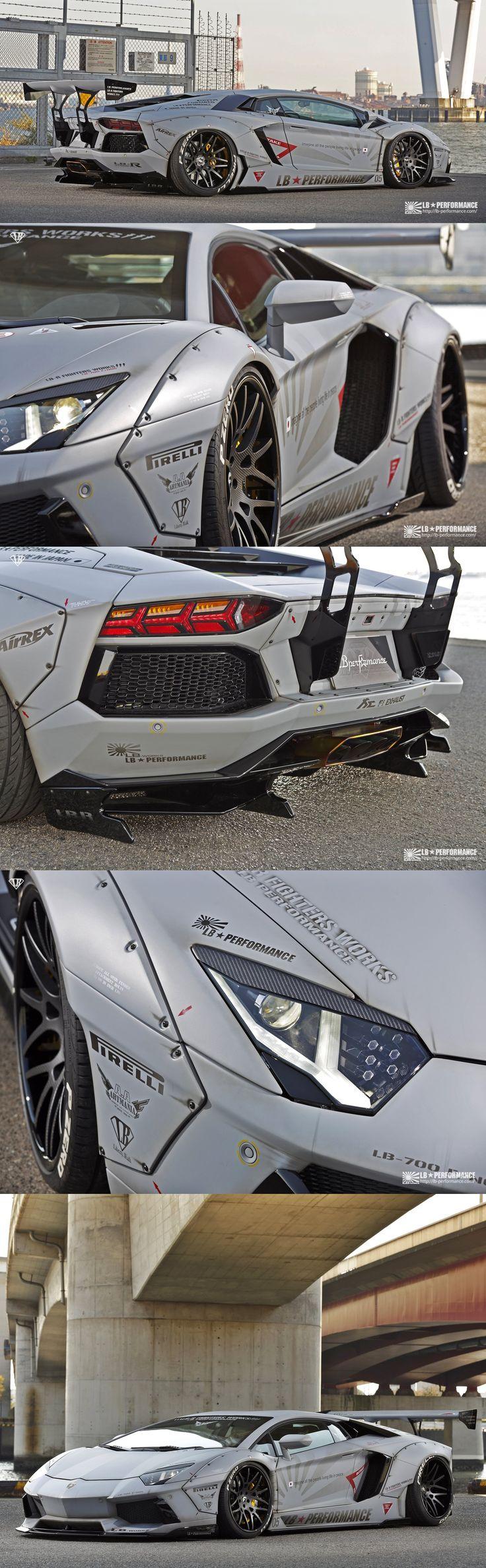 Liberty Walk | Lamborghini Aventador.