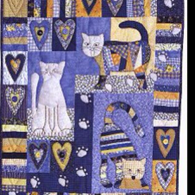 Kitty Kitty Cat Quilt Patterns Patchwork Quilt Patterns