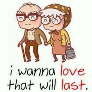 May love be in my life even to the end...