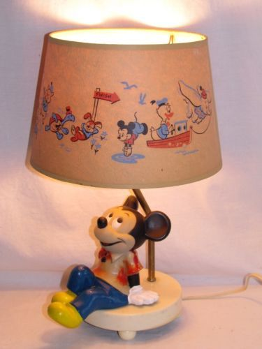 Wayfair Table Lamps >> Vintage disney, Disney mickey mouse and Night lights on ...