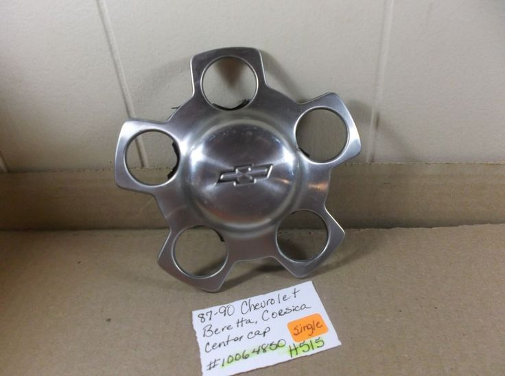 "1987-1990 Chevrolet Beretta Corsica 15"" Wheel Center Cap 10064850 hubcap H515 #Chevrolet"