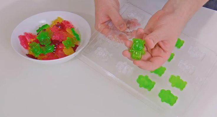 DIY Gummy Bears