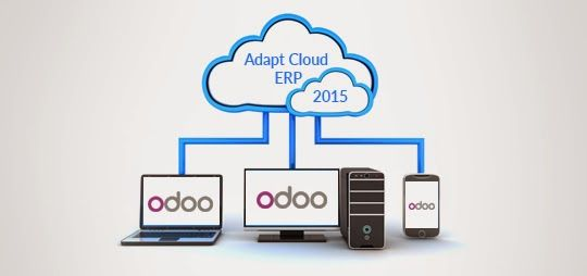 Adapt #Cloud #ERP and Grow in 2015 with #Odoo #developer #programmer #opensource