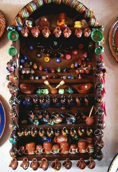 Trastero tipico mexicano #casasmodernasmexicanas #artesaniasMexicanas