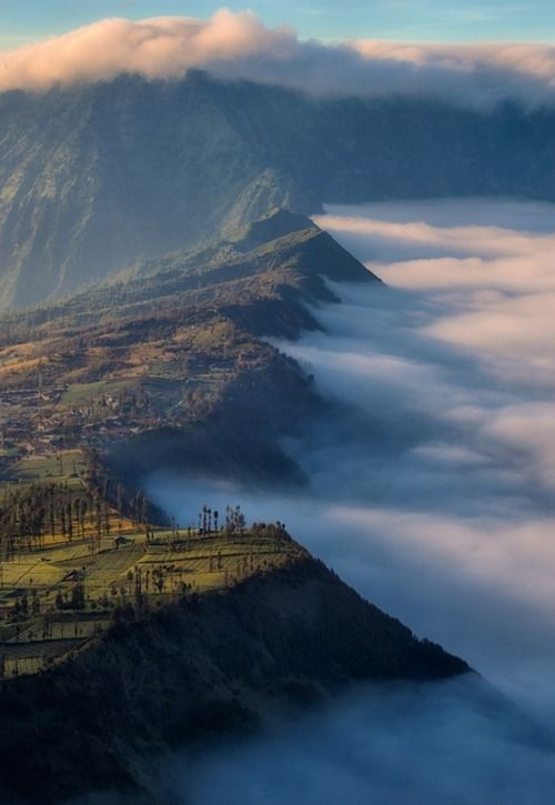 Mt. Bromo, Indonesia, blew my mind, most amazing looking place I've been to date, went as part of Tour de East Java