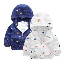 Autumn Winter Baby Boy Jackets Outerwear Hooded Softshell Jacket For Boys Kids Coat Children Clothes(China (Mainland))