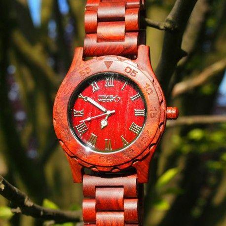 dřevěné hodinky Becrux od TimeWood