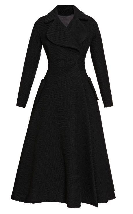 Black Dress And Coat