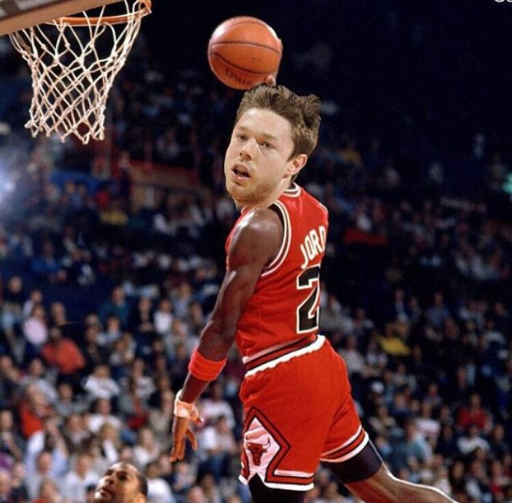 DELL BE LIKE MIKE POSE