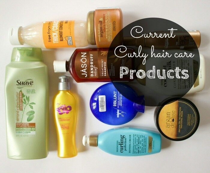 My Current Curly Hair Care Products Curly Hair Styles Curly