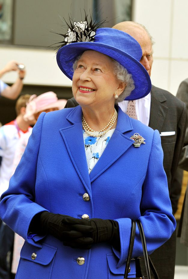 elizabeth ii on the eve of the london olympic games july 28 2012