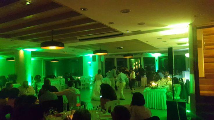 Pyrgos restaurant-wedding reception-Santorini