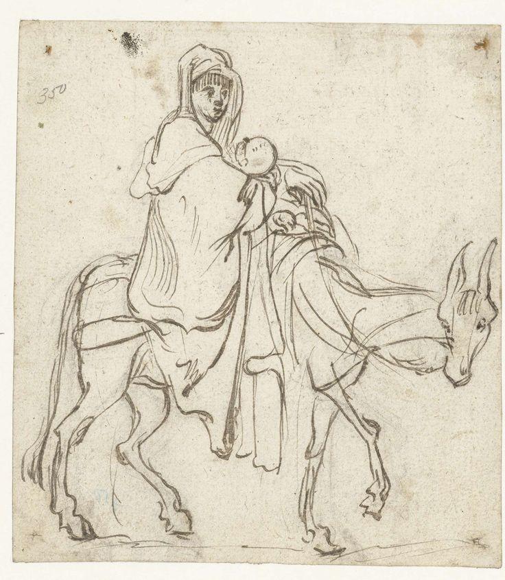Jan Philipsz. van Bouckhorst | De vlucht naar Egypte, Jan Philipsz. van Bouckhorst, 1600 - 1631 |