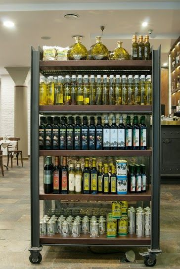 """Cooking is not magic. The whole strength lies in our products ... ""  Brought from Greece the best products from local manufacturers. Try their thang in the restaurant or choose your favorite in our Delicatessen . http://www.winesandolives.pl/"