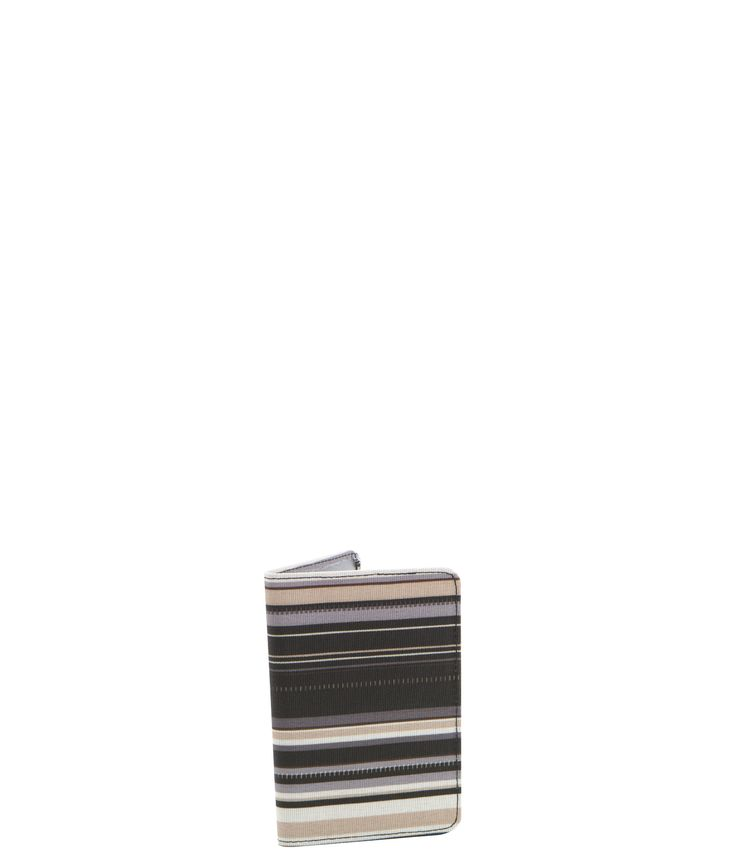 Spencer and Rutherford - sale - Passport Sleeve - Passport Cover - Cobblestone/Stripe