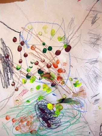 """""""Fall Leaves Fall""""  Artsonia Art Museum :: Artwork by Chayton47"""
