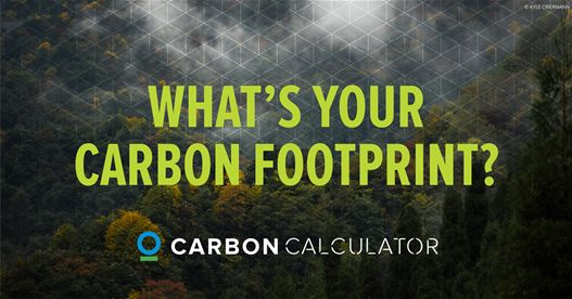 What is your carbon footprint? Calculate it now. Offsetting the carbon emissions from your lifestyle is a critical step toward fighting climate change.