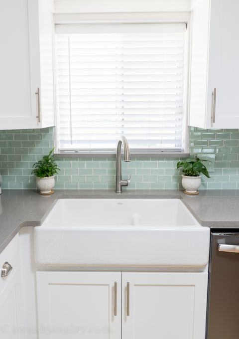 Kitchen Reveal {Before And After Photos}