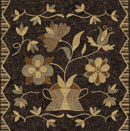 Design by Anne Nichols - Annetiques Rug Hooking www.picturetrail.com/annetiques