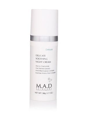 M.A.D Skincare Delicate Soothing Night Cream, 50g (1.7oz)