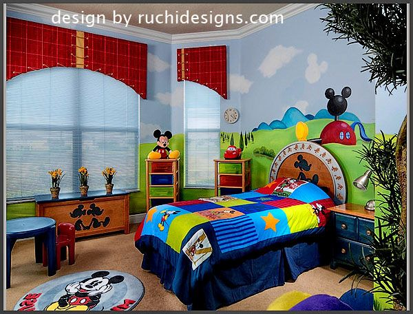 29 best images about mickey mouse toddler room on Mickey mouse bedroom ideas