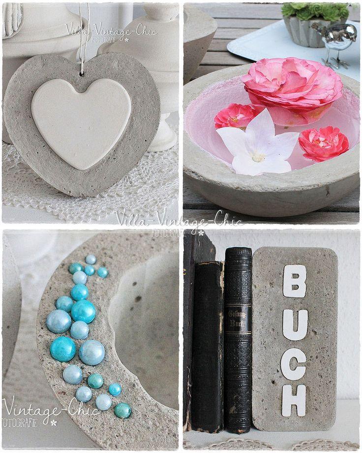 308 best images about beton on pinterest deko basteln and cement. Black Bedroom Furniture Sets. Home Design Ideas