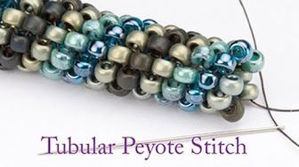 Peyote Stitch tutorial for beginners - Beadweaving with Svetlana Kunina - YouTube