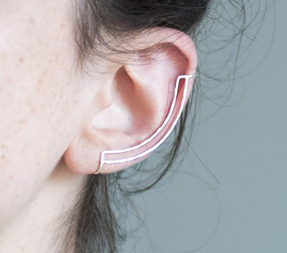 Knobbly ear cuff.