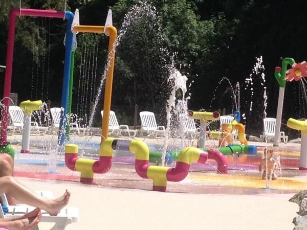 Aquapark, accrobranche chez Les Castels camping du Val de Bonnal