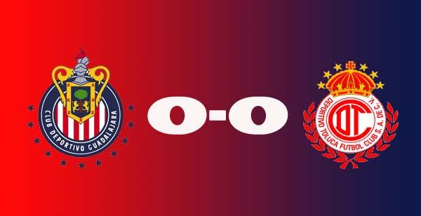 Chivas 0 - 0 Toluca el videoresumen del encuentro de ayer!