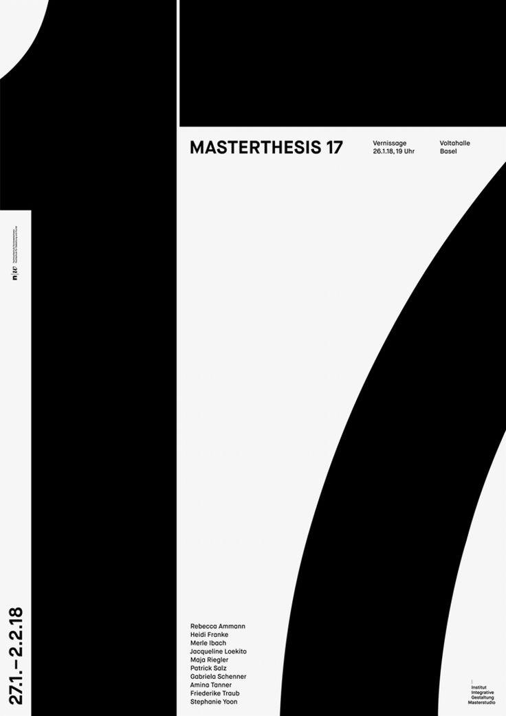"""masterthesis 17"" by it's mee / switzerland, 2018 / digital print, 895 x 1280 mm"