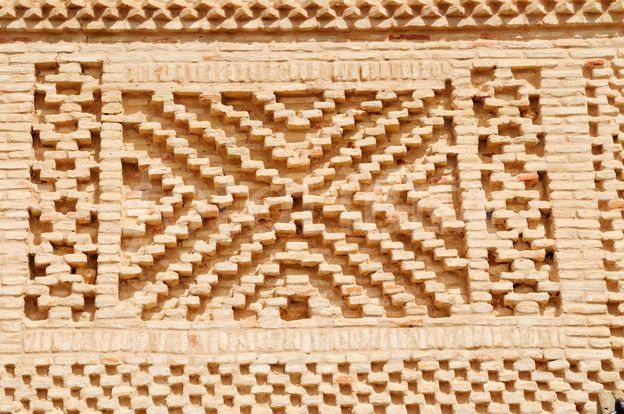 Patterned Brickwork Nefta Tunisia