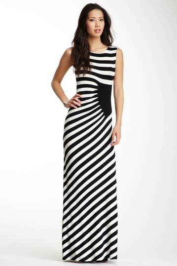 Stripe Maxi Dress