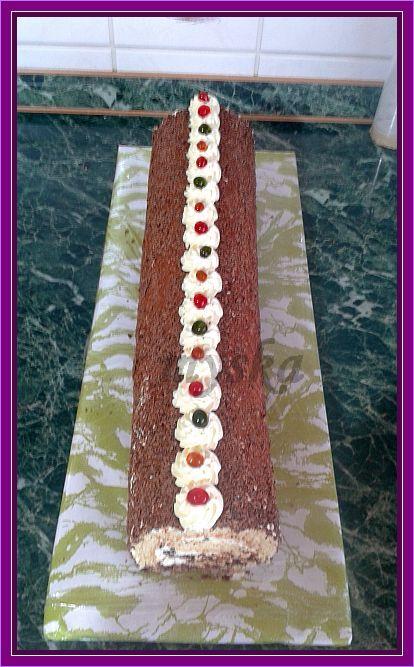 čokoládovo-vanilková
