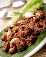 Cara membuat Ayam Goreng Bawang :      Aduk potongan ayam dengan Bumbu Perendam hingga rata. Diamkan selama 1 jam supaya bumbu meresap.  ...