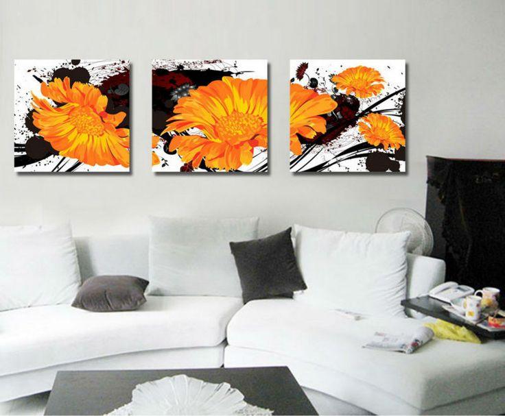 17 mejores ideas sobre pintura de color naranja en - Pintura naranja pared ...