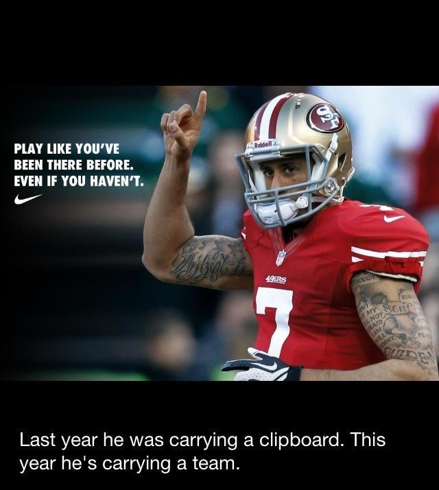 49ers! #kaepernicking #redandgold