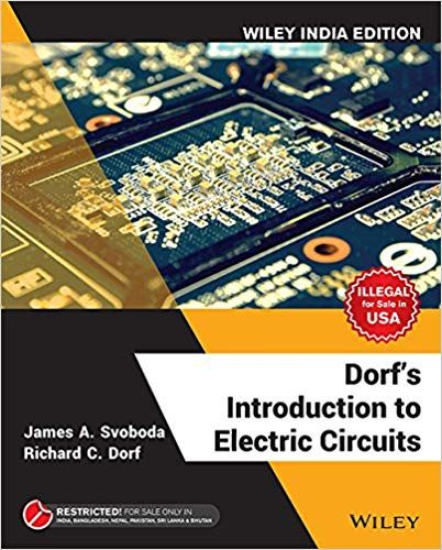 solution manual for title dorf\u0027s introduction to electric circuits