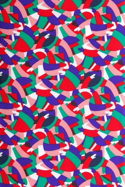 Eley Kishimoto muse pattern / color palette