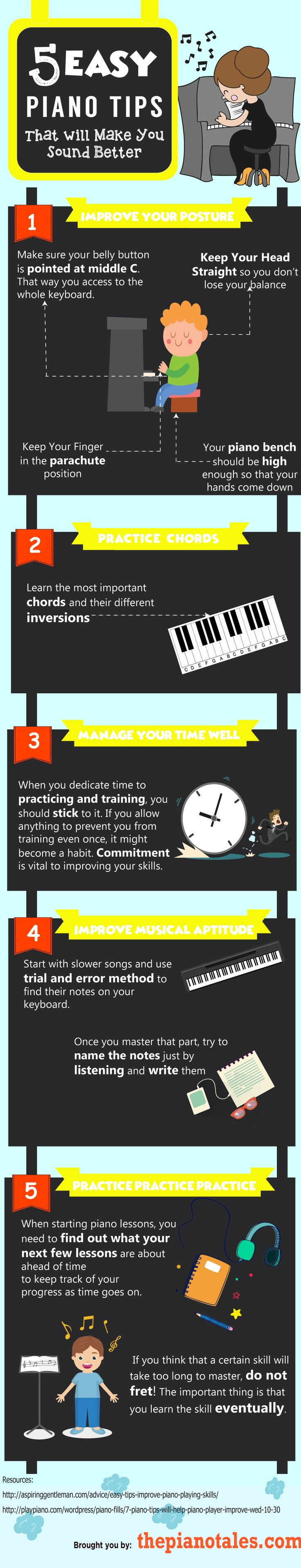 5 Easy Piano Tips That Will Make You Sound Better