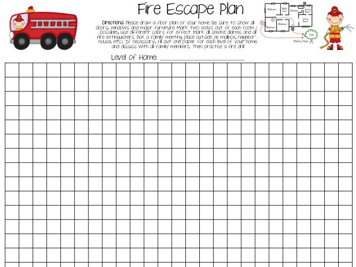 81 best Firehouse workouts images on Pinterest Work outs - evacuation plan templates