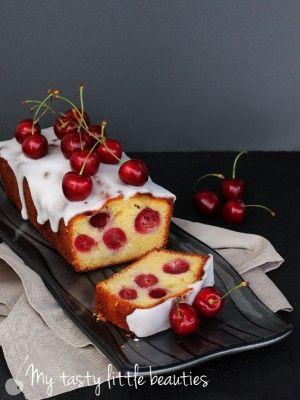 Kirschkuchen mit Marzipan | My tasty little beauties