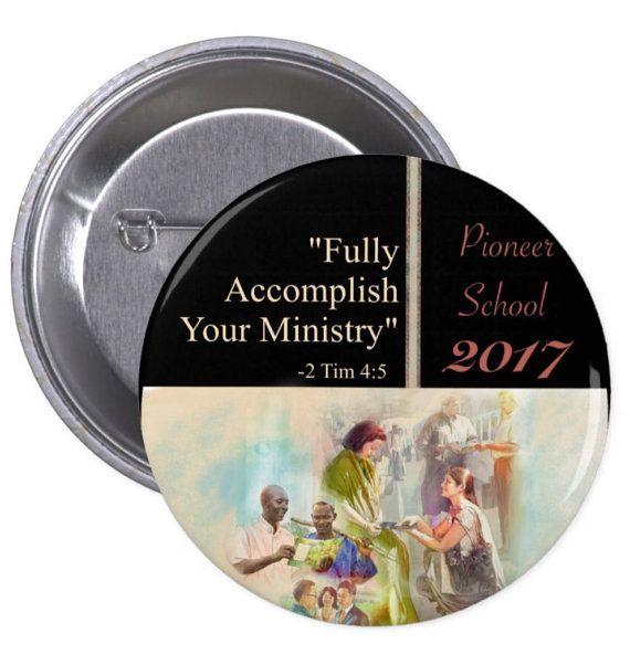 10 pc. Set. JW.ORG PIONEER School Book  pin. 2.25 by Tiagoscustom